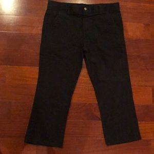 Boys black Chaps pants size 16 husky